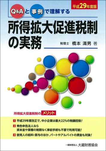 所得拡大促進税制の実務(平成29年度版)